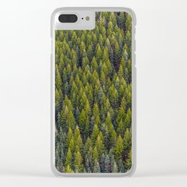 Sapins Clear iPhone Case