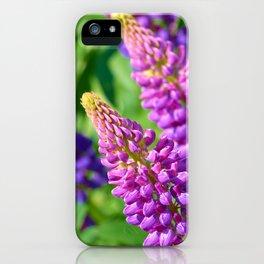 Spring Garden Flowers iPhone Case