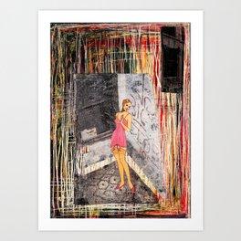 Improper Art Print