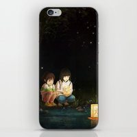 spirited away iPhone & iPod Skins featuring Spirited Away by Jessica P.