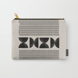 Mid Century Modern Geometric Carry-All Pouch