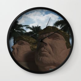 Trump Beach Wall Clock