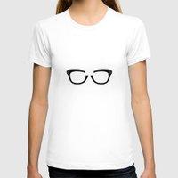 alex vause T-shirts featuring Alex Vause Glasses OITNB by Maria Giorgi