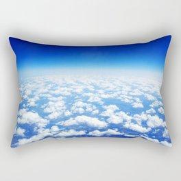 Looking Above the Clouds Rectangular Pillow