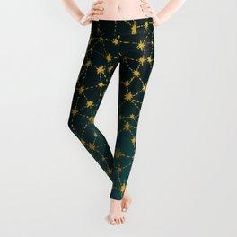 Stars Map Leggings