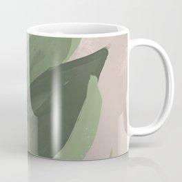 Plant On Pastel Coffee Mug