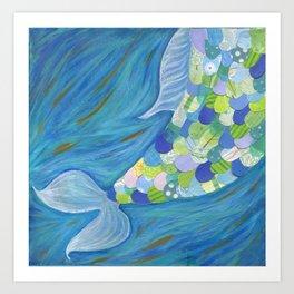 Mermaid Tail Art Print