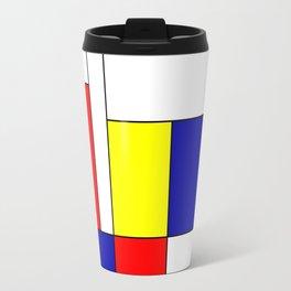 Mondrian #37 Travel Mug
