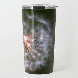 Wishes, Dandelion Seeds  Travel Mug