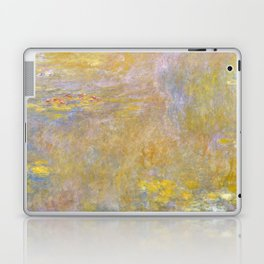 Sea-Roses (Yellow Nirwana) by Claude Monet Laptop & iPad Skin