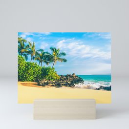 Paako Beach Makena Maui Hawaii Mini Art Print
