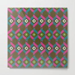 "Pattern ""Honeycomb"" Metal Print"