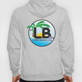 Long Beach CA Logo Design Hoody