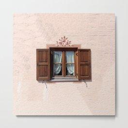 Windows of Mittenwald Metal Print
