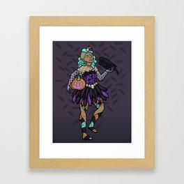 October Fairy Framed Art Print