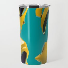 yellow helmet Travel Mug