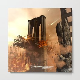 The apocalypse Metal Print