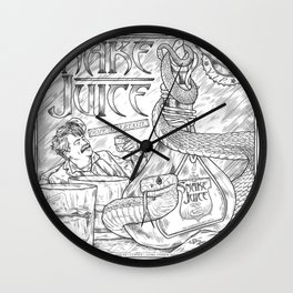 Snake Juice Wall Clock