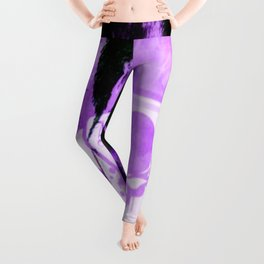 Purple Jokester Leggings
