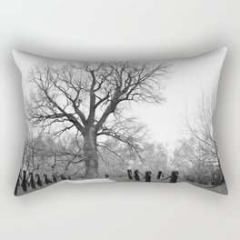 Century Oak Rectangular Pillow