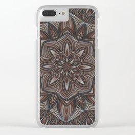 Hot Chocolate Clear iPhone Case