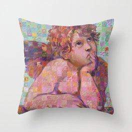 Sistine Cherub No. 1 Throw Pillow