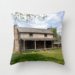 Prairie Grove Battlefield - The Latta Homestead, Established in 1834, No. 2 of 5 Throw Pillow