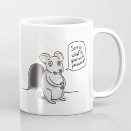 Freeloading Mouse  Coffee Mug