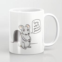 Freeloading Mouse  Coffee Mug