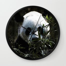 Chinese Giant Panda Bear Wall Clock