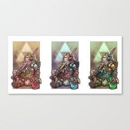 Soul of a Hero Collection Canvas Print