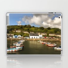 Porthleven Cornwall Laptop & iPad Skin