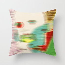 Passer-by Throw Pillow