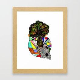 Bursting Out Of Brokenness Framed Art Print
