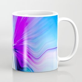 Abstract Moving Butterfly Design Coffee Mug