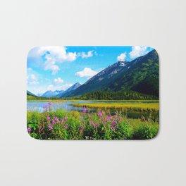 God's Country - Summer in Alaska Bath Mat