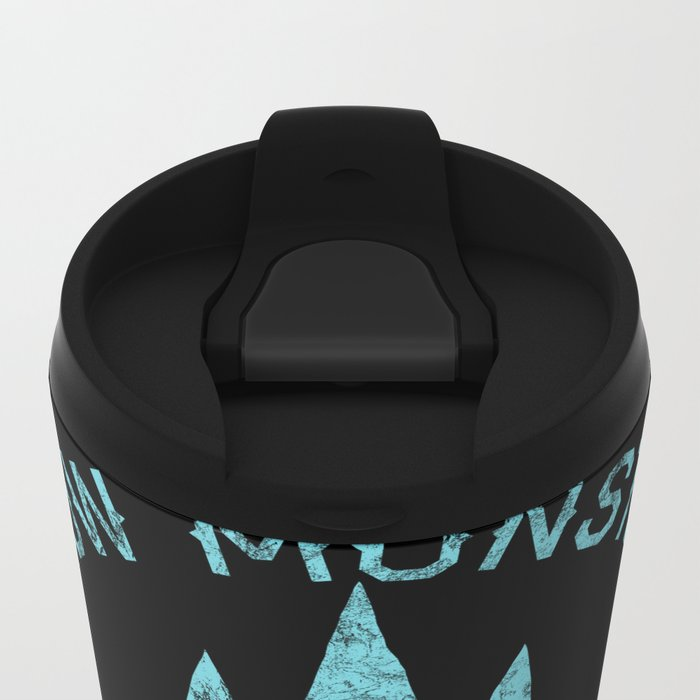 Bad Boy Club: Snow Monsters, Wizards Only Metal Travel Mug