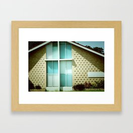 house of the lord Framed Art Print
