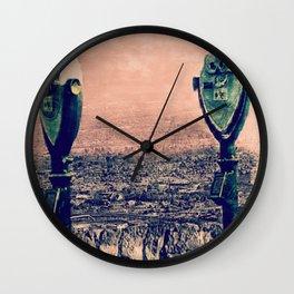Scenic Drive, El Paso, TX. Wall Clock