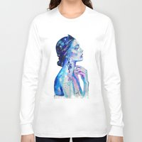 queen Long Sleeve T-shirts featuring Queen by Andreea Maria Has