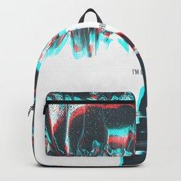 I'M GLITCHING Backpack