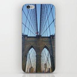 Brooklyn Bridge (in color) iPhone Skin