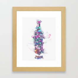 Pour  Framed Art Print