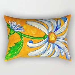 Summer Daisy Rectangular Pillow