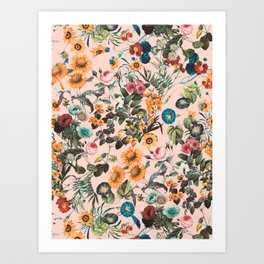 EXOTIC GARDEN XVIII Art Print