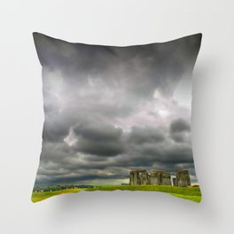 Stonehenge Wiltshire England Throw Pillow