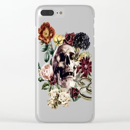 The Final Curtain Clear iPhone Case