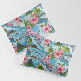 Hawaiian Scenes Pillow Sham