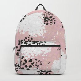 Black and White Prints Backpack