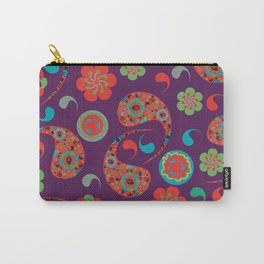 Paisley background  Carry-All Pouch